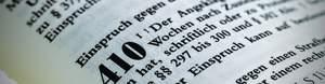 Einspruch Strafbefehl § 410 StPO
