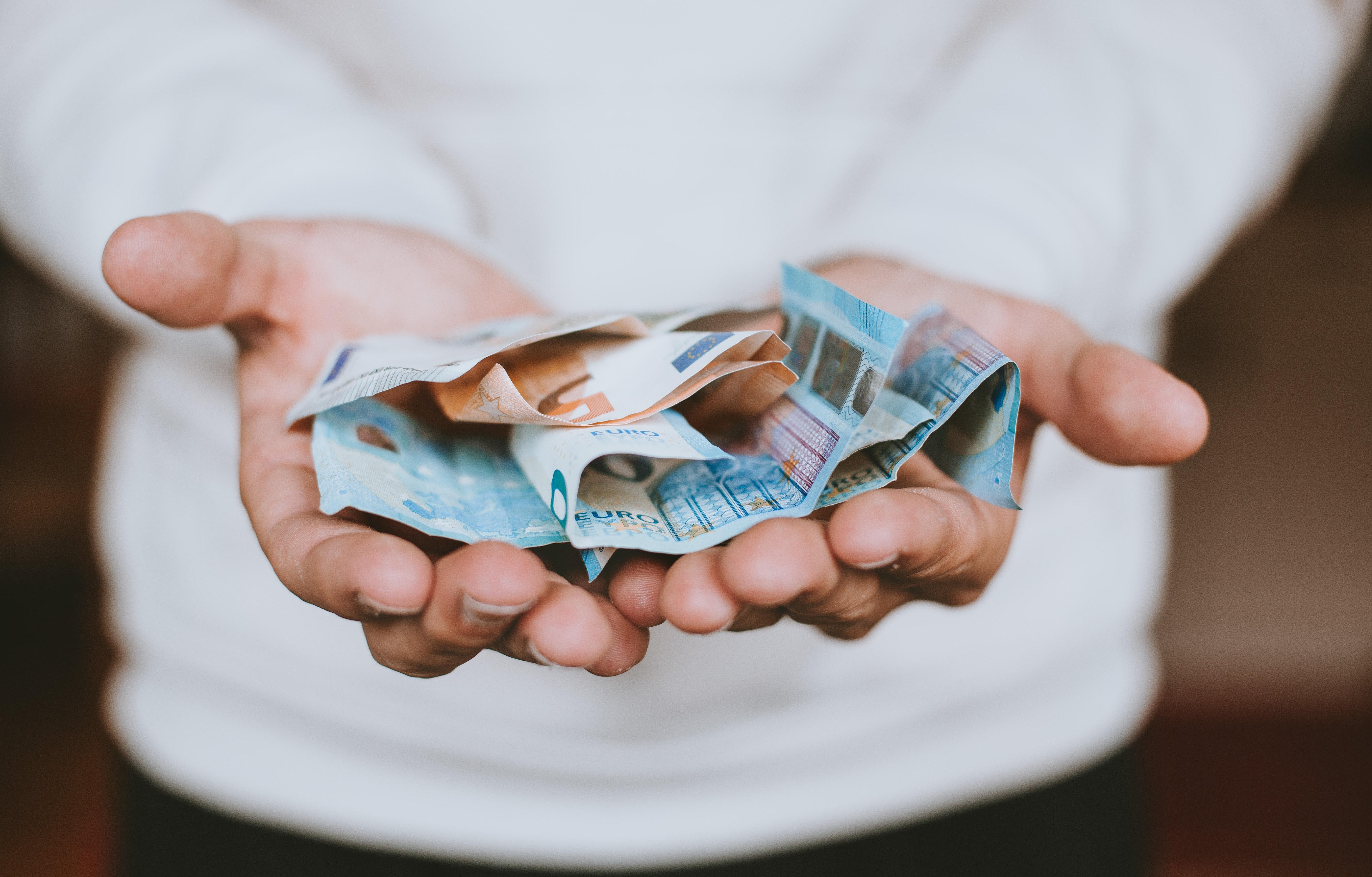 Euro Geld Geldstrafe