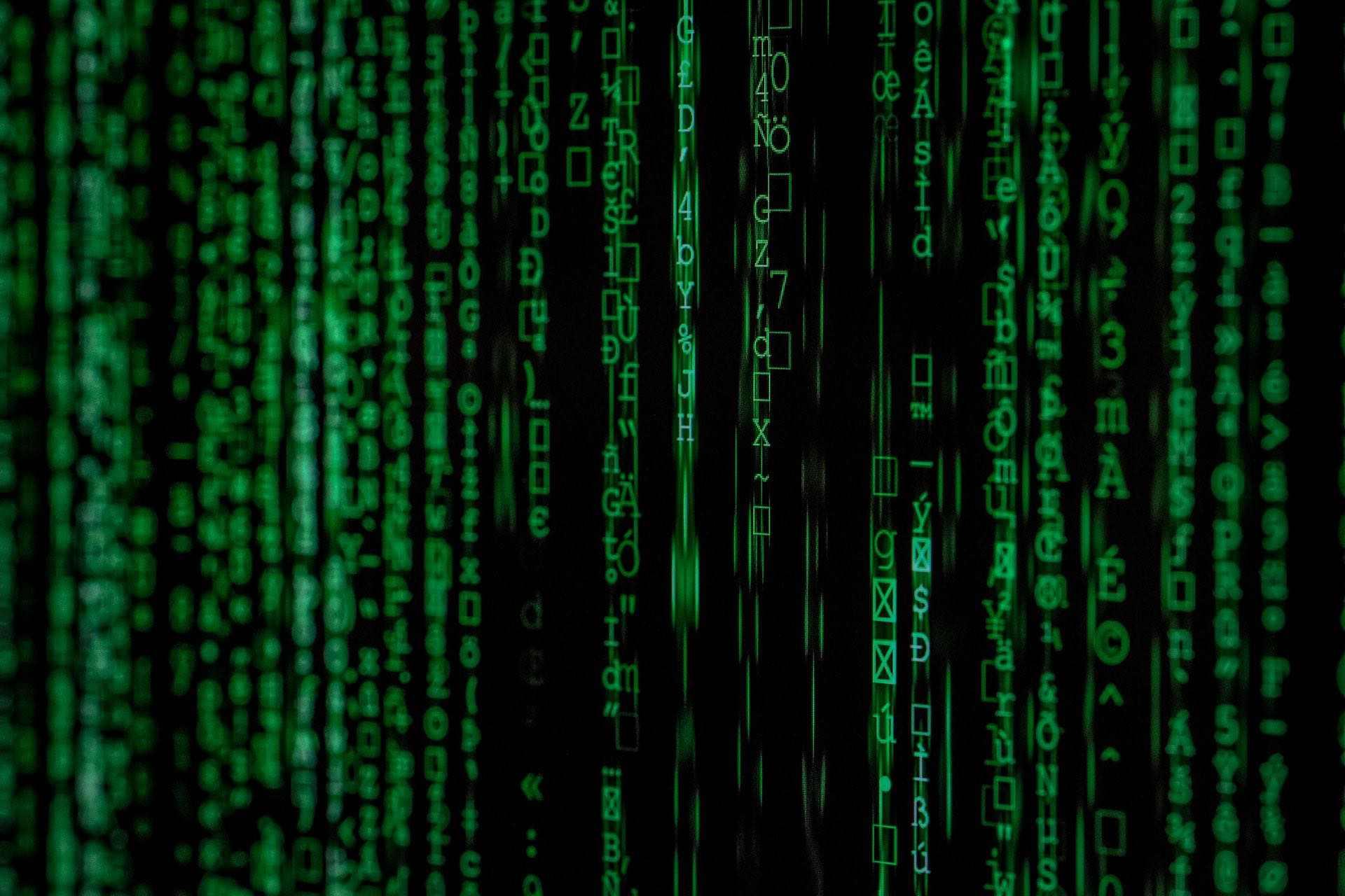 Datenschutz Symbolfoto Matrix